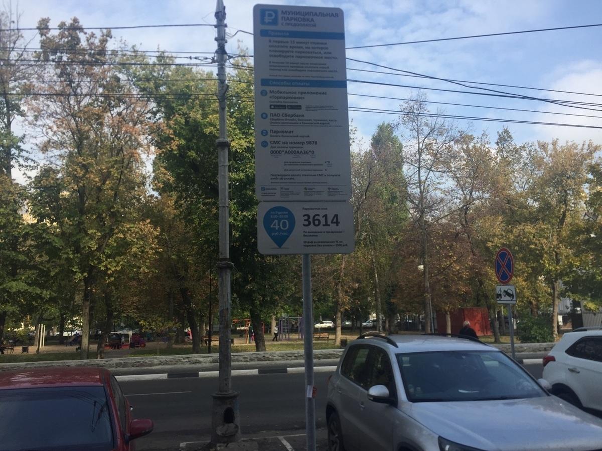 Платные парковки в Воронеже могут нарушать законодательство РФ