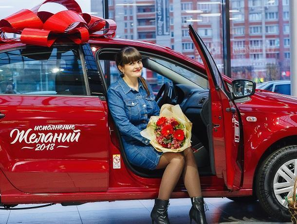 Жительница Воронежа купила макароны и выиграла иномарку