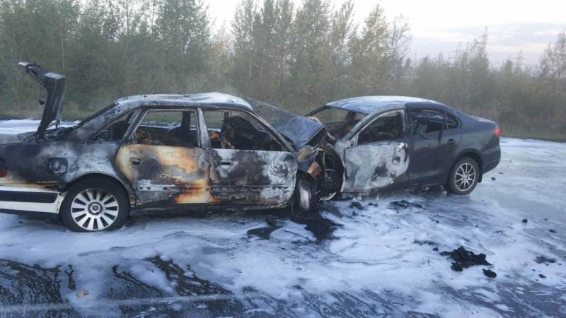 Пять человек погибли при столкновении иномарок под Воронежем