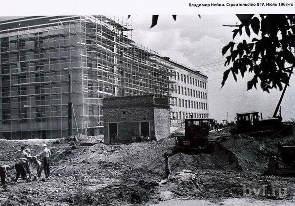 Воронежцам показали, как строили главный корпус ВГУ