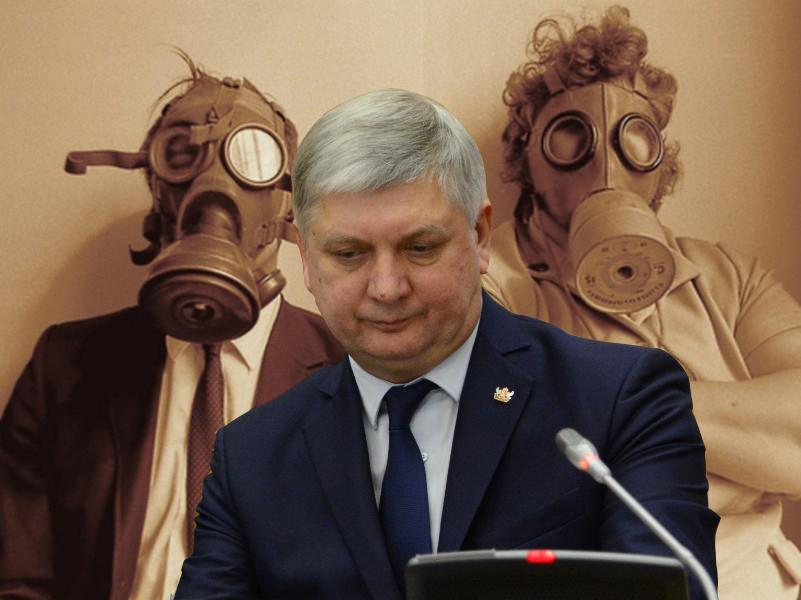 Губернатор Гусев потерял превосходную степень из-за вони в Воронеже