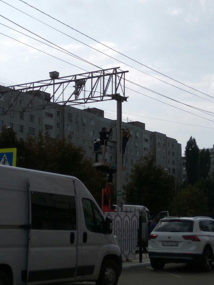 В Воронеже появилась новая камера видеофиксации на дороге