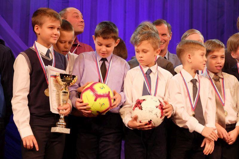 В Воронеже чествовали победителей Чемпионата и первенства по футболу