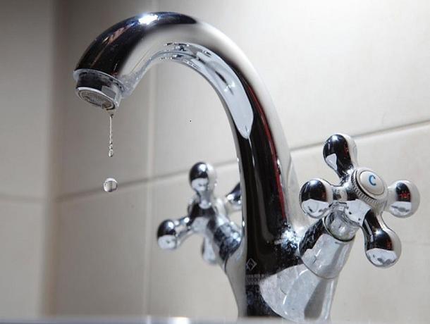 В Воронеже коммунальная авария оставила без воды жителей Советского района