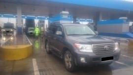 Фура протаранила Land Cruiser и ВАЗ на пункте оплаты трассы М-4 «Дон» в Воронеже