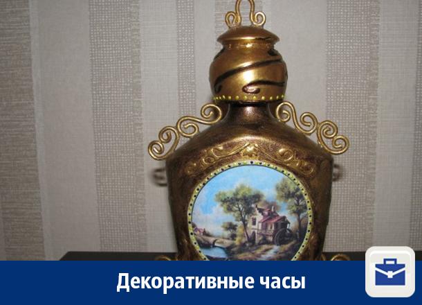 В Воронеже продают декоративные часы