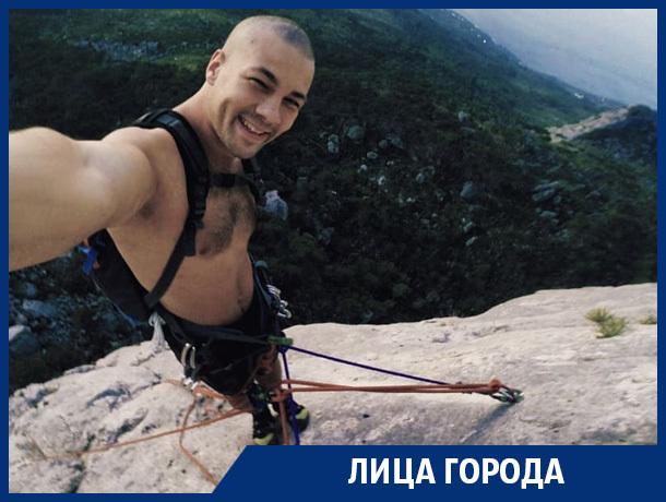 Я боюсь высоты, - воронежский экстремал Богдан Корженевский