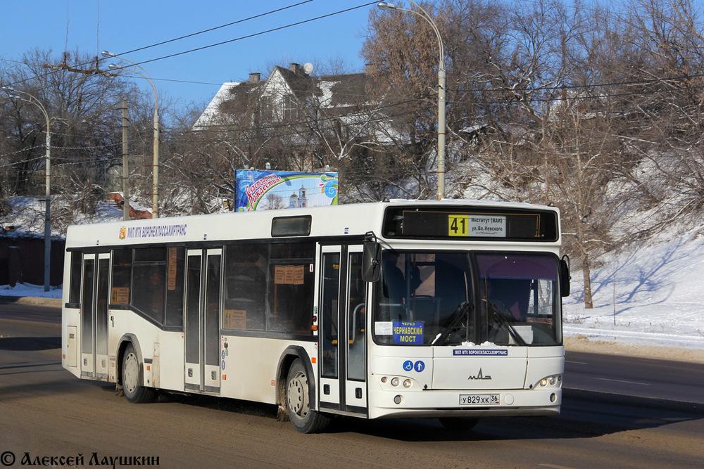 В Воронеже пенсионерка упала под колеса 41-го автобуса