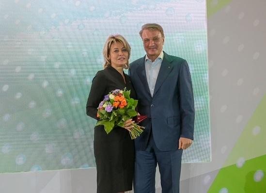 Зампредседателя Центрально-Черноземного банка ПАО Сбербанк Ирина Алименко удостоена звания «Заслуженный экономист Российской Федерации»