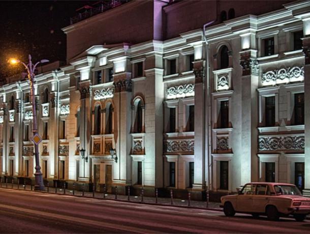 Власти потратили 90 млн рублей на подсветку зданий в Воронеже