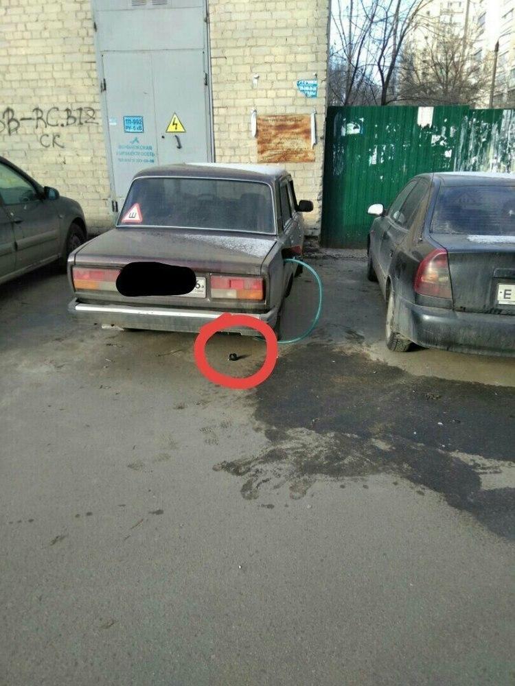 Автомобилисты из Воронежа угрожают «отрубить руки» сливщикам бензина