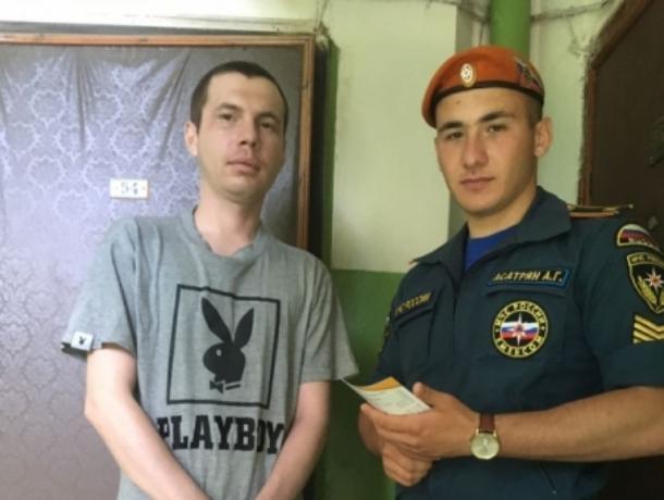 МЧС провело рейд по неблагоприятной «группе риска» в Воронеже