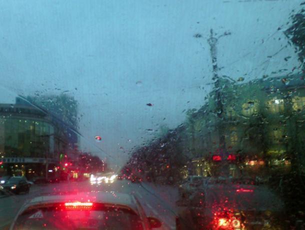 «Акварельный» Воронеж показали из окна маршрутки