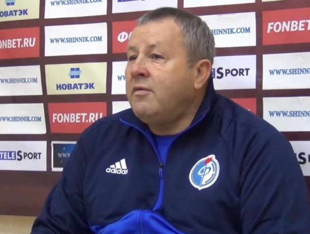 Тренер воронежского «Факела» Павел Гусев: «Я не сомневаюсь ни в ребятах, ни в себе»