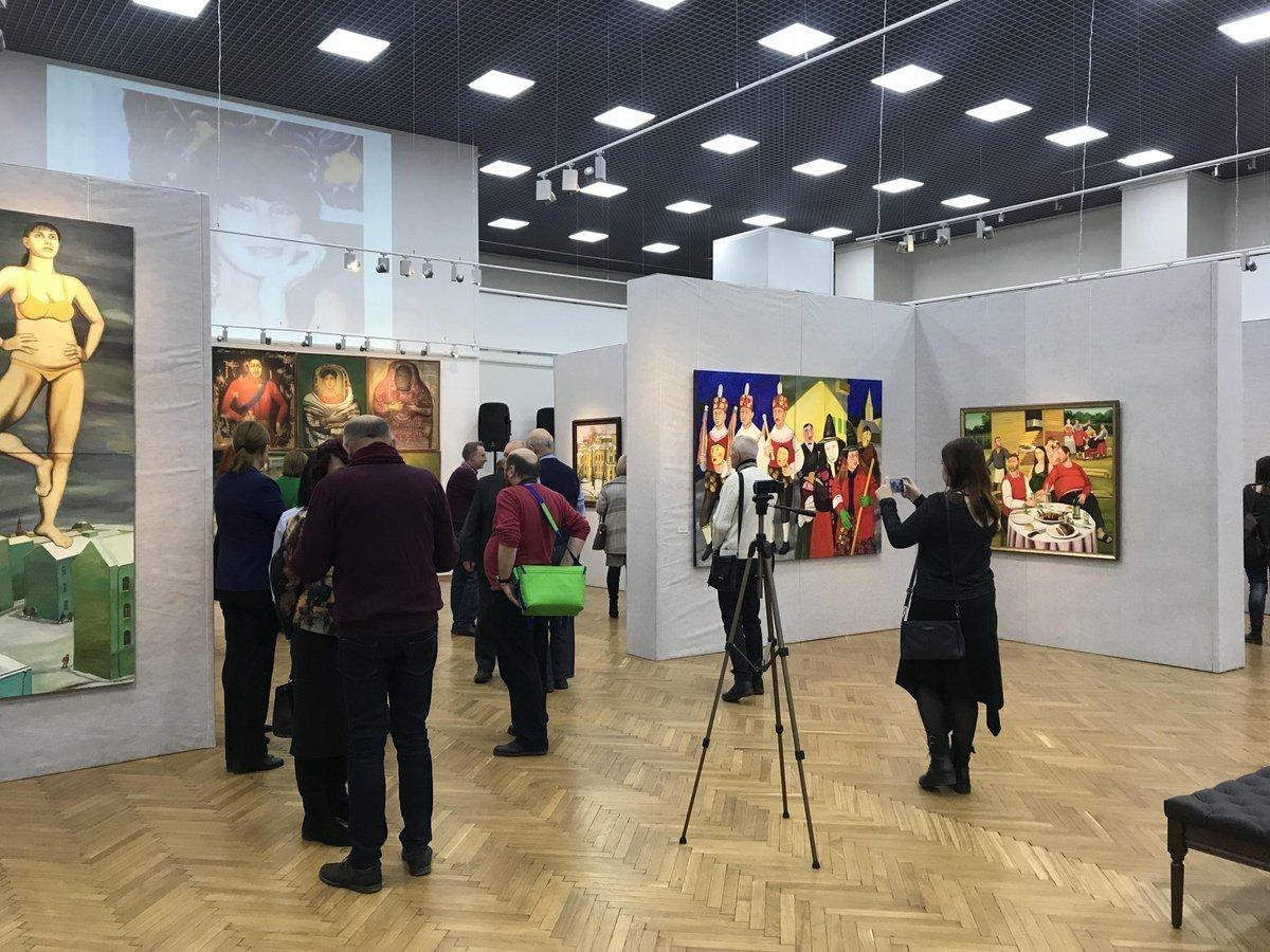 Выставка с философской идеей начала работу в Воронеже