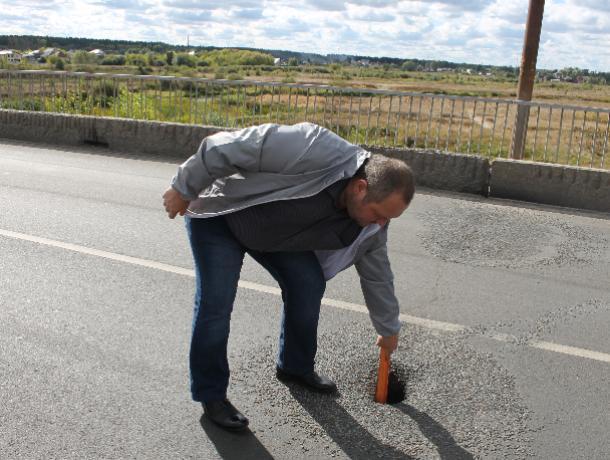 Общественники показали, во что за пару месяцев превратились новые дороги в Воронеже