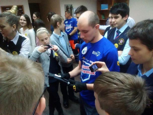 Специалисты «РВК-Воронеж» провели урок для школьников