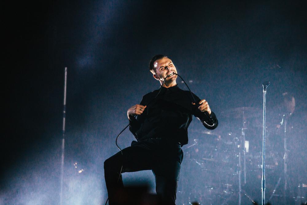 Концерт группы Hurts вВоронеже посетили неменее 2 тыс. человек