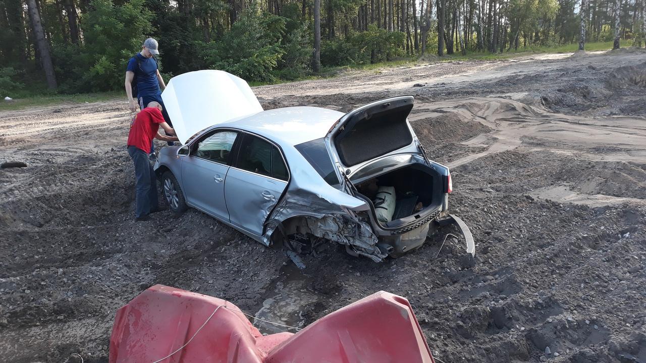 Массовая авария в Воронеже закончилась дракой водителей