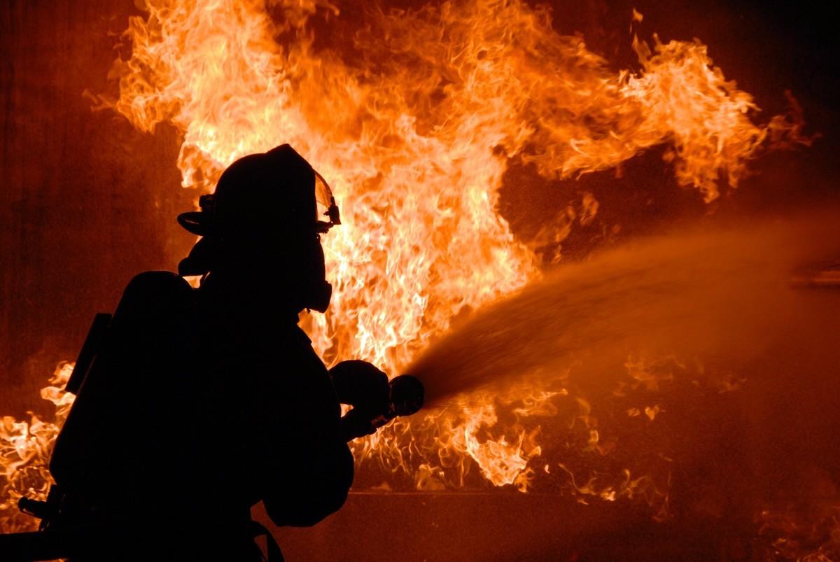 В Воронежской области на крупном пожаре сгорел селянин