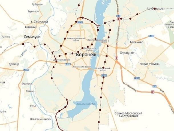 Воронежец предложил интересный проект строительства метро